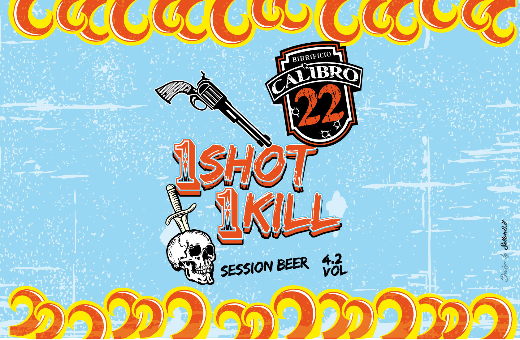 Birra 1 Shot 1 Kill - Calibro22