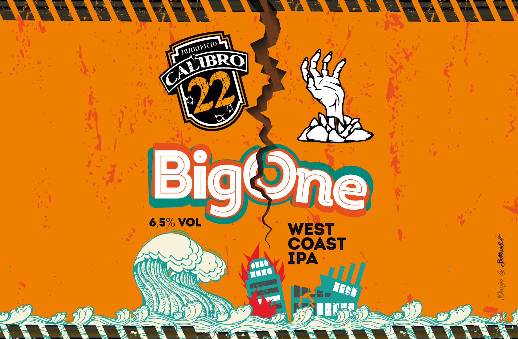 Birra Big One - Calibro22